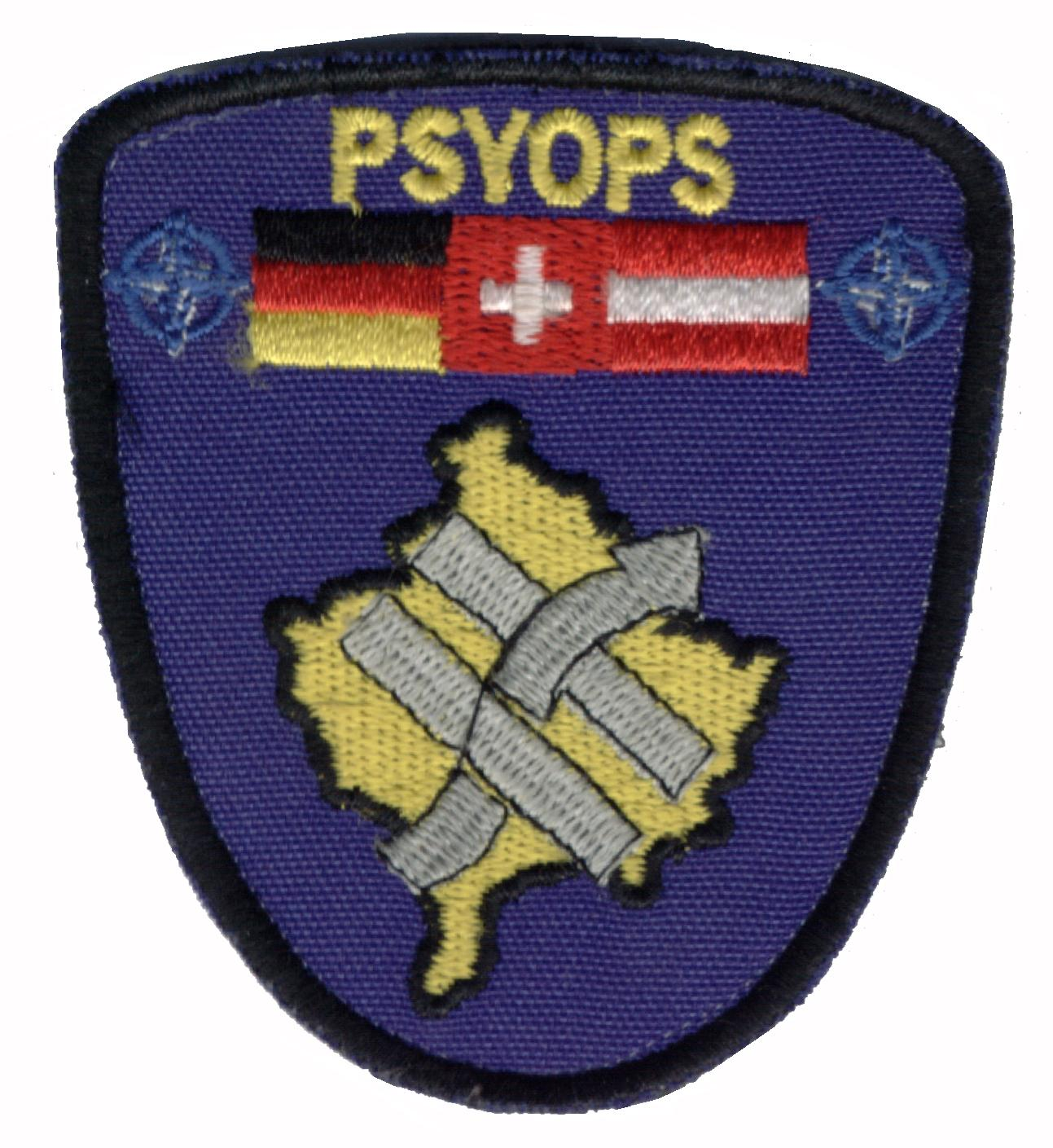 Psy ops mission patches history