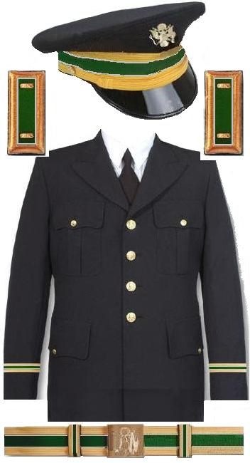 Army Service Blue Uniform 25