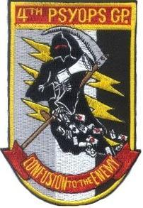 Psyopsinsignia / us army psyops un-official patches.